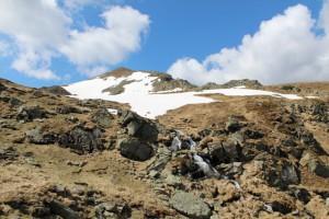 Schnee im Mai, der Deneck im Sölktal