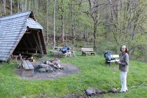 Schutzhütte Zweribergwasserfälle