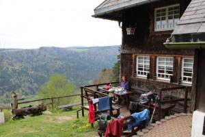 Rast bei der Hintereck-Hütte