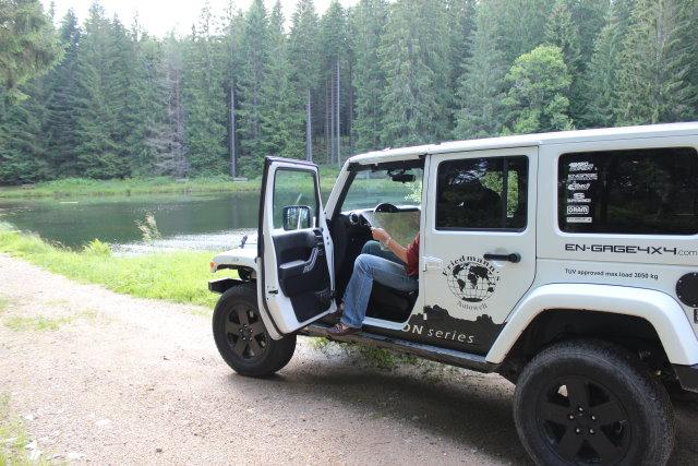 Abenteuer Jeep: Durchs Murgtal nach Baiersbronn