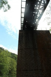 Schluchtensteig Eisenbahnbruecke Lager