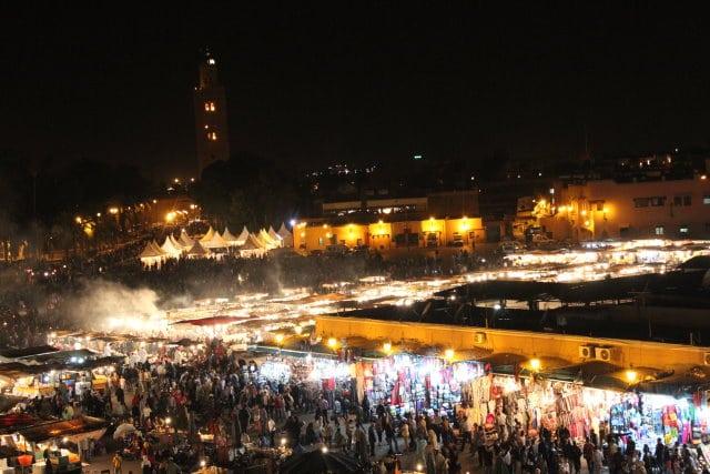 Marokko 1 Ankunft in Marrakesch