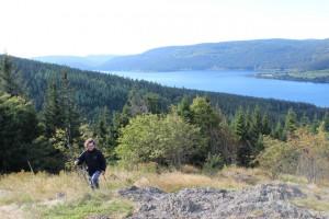 Der Bildstein oberhalb des Schluchsees