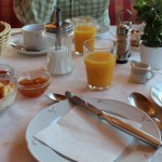 Frühstück im Hotel Straub