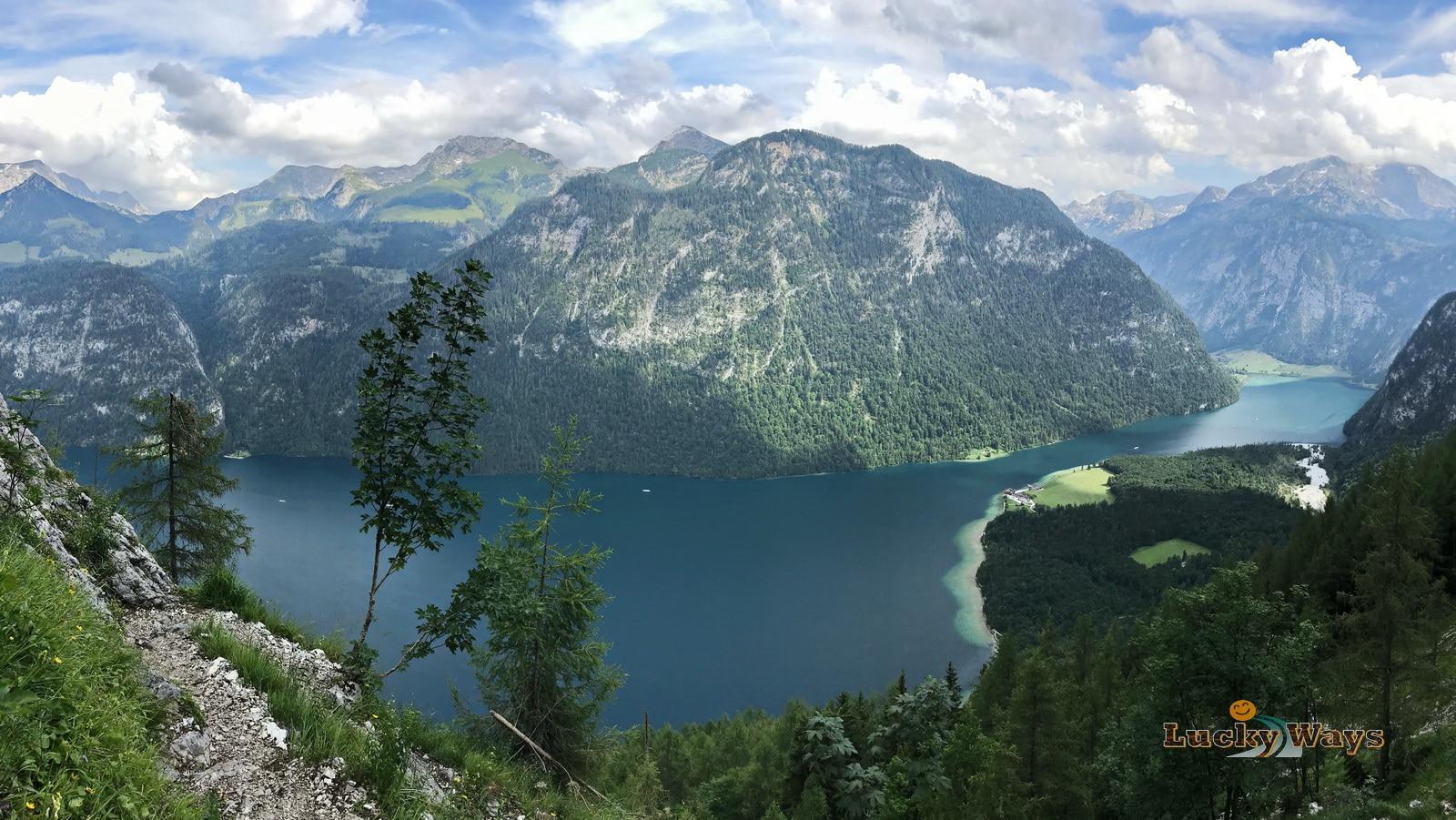 Nationalpark Berchtesgaden Bayern Königssee Rinnkendlsteig