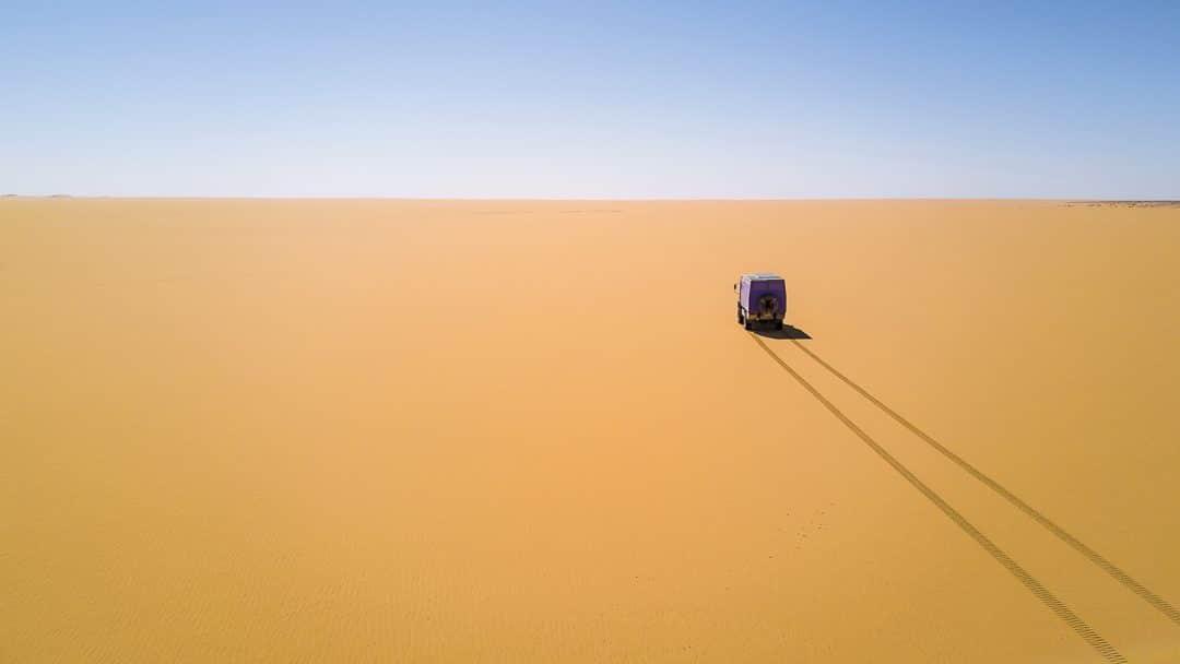 Mauretanien – Erg Maqteir