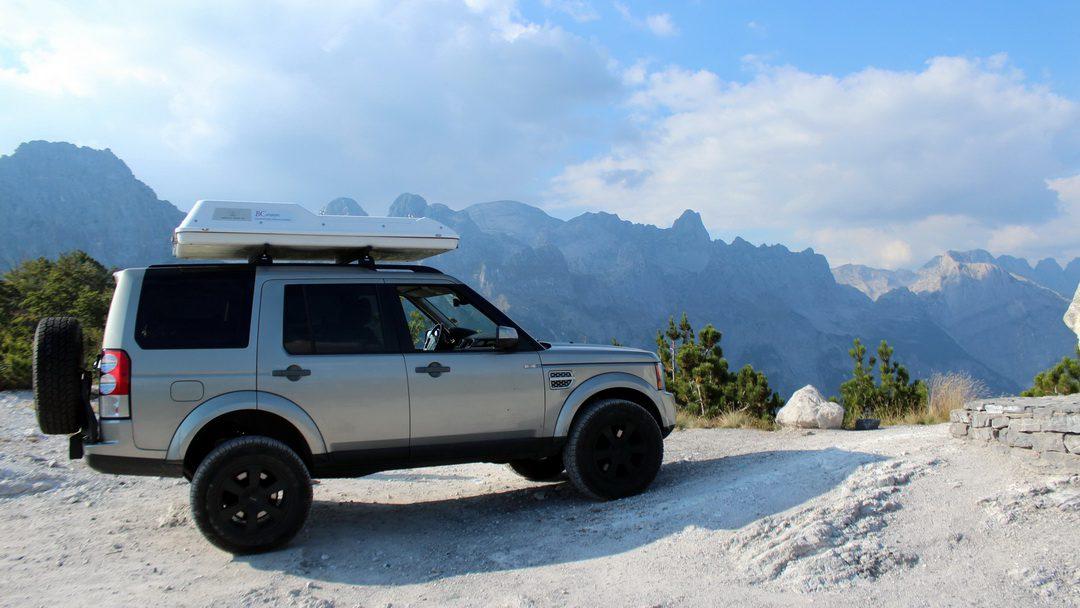 Offroad in den albanischen Alpen