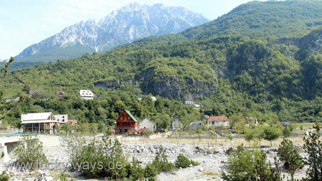 Albanien Theti Nationalpark