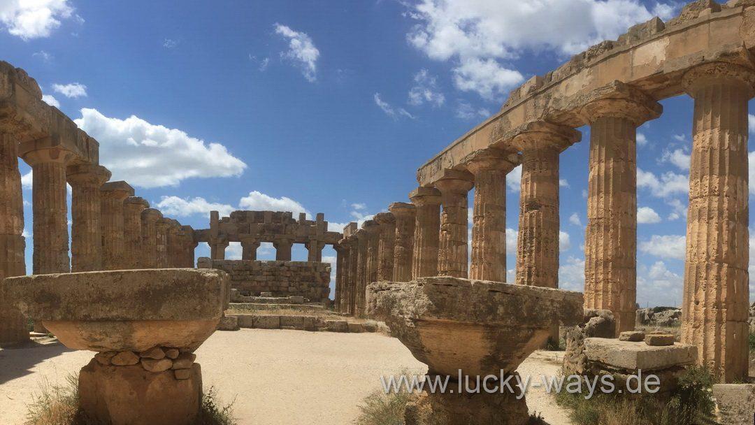 Tempel E von Selinunt Sizilien - Lucky Ways
