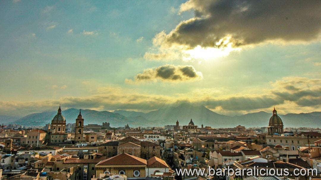 Sizilien Italien Palermo Ausblick vom Ambasciatori