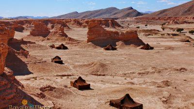 Akka Nait Sidi – Marokko Desert Camp in spektakulärer Umgebung