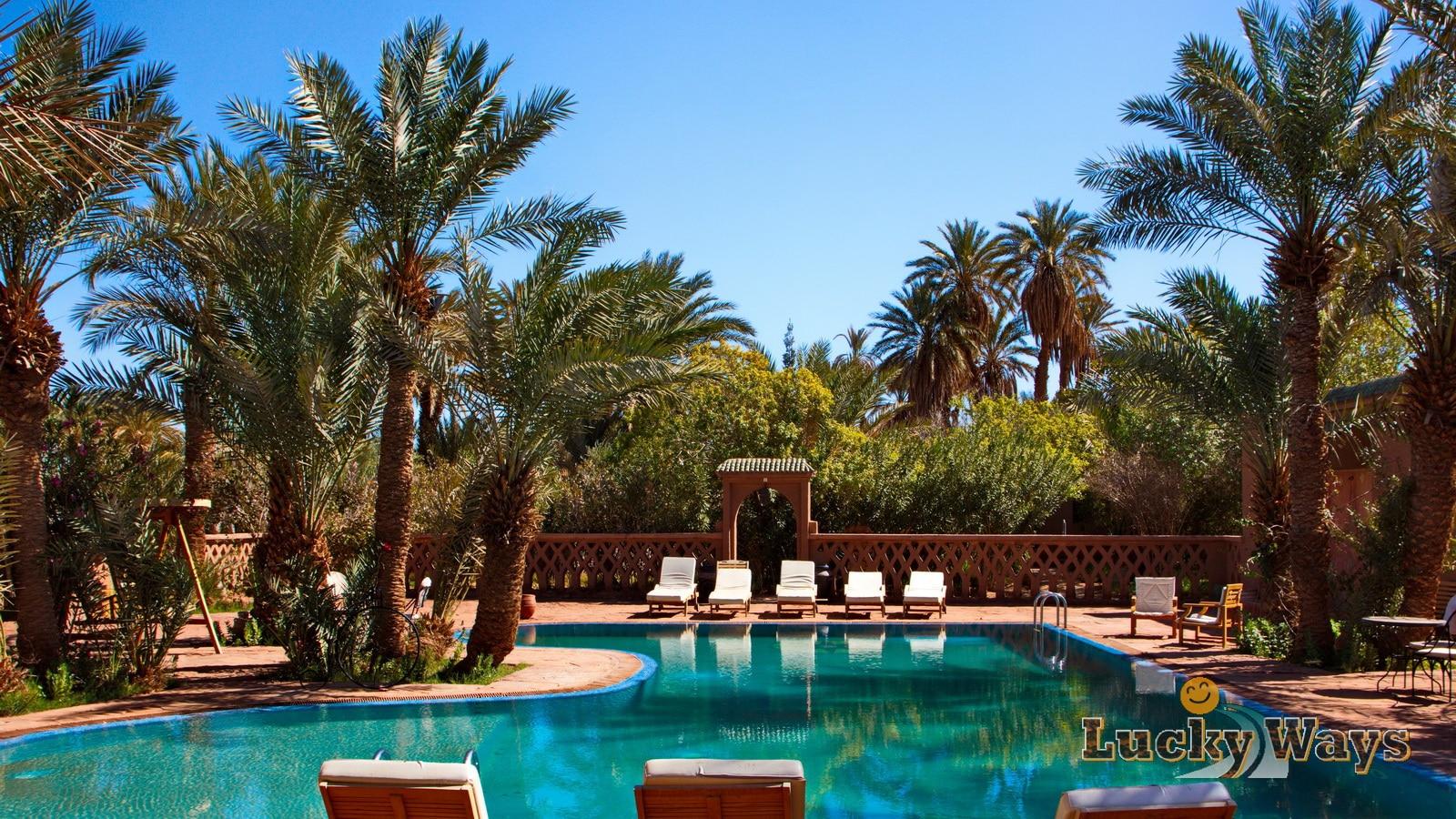 hotel chez le pacha m 39 hamid el ghizlane zagora marokko lucky ways. Black Bedroom Furniture Sets. Home Design Ideas