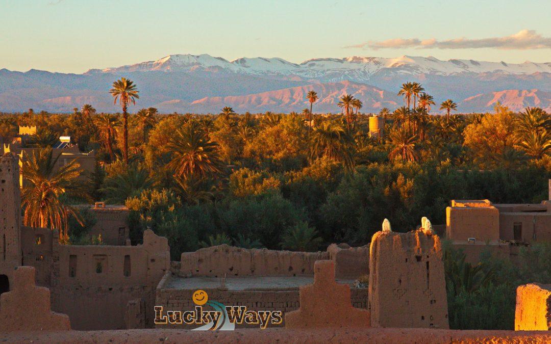 Marokko Skoura Kashbah Amerhidil