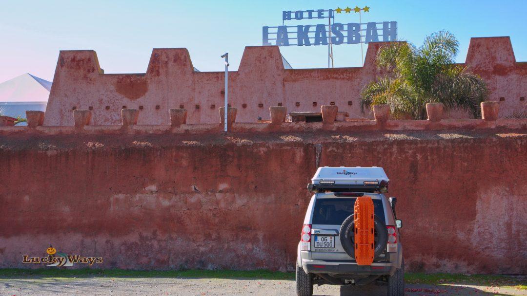Rundreise Marokko – Übernachten im Kasbah Hotel Skhirat