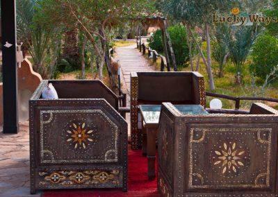 Bab Rimal Desert Hotel Foum Zguid Sahara Sitzgruppe