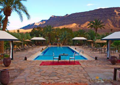 Bab Rimal Desert Hotel Foum Zguid Sahara Swimming Pool