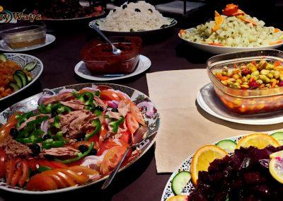 Bab Rimal Desert Hotel Foum Zguid Sahara Restaurant Buffet